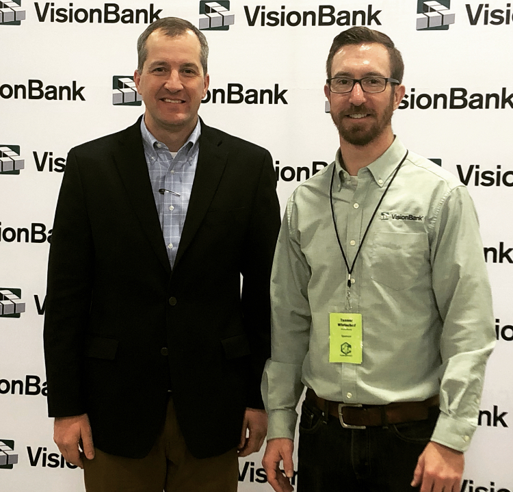 SVP Commercial Banker, Tanner Winterhof, met with Ag Secratary, Mike Niag.